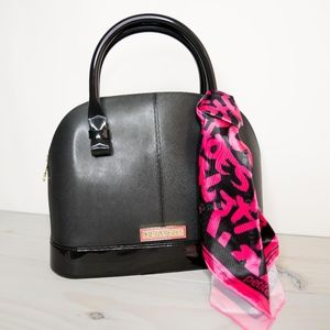 Alisha Black Pink Handbag